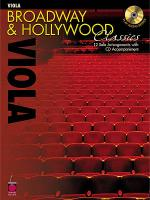 Broadway and Hollywood Classics for Viola Sheet Music