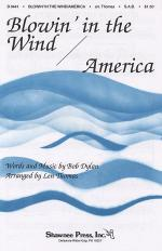 Blowin' in the Wind/America Sheet Music