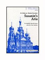 Susanin's Aria for Double Bass & Piano Sheet Music