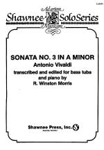 Sonata No. 3 in a Minor Tuba/Piano Sheet Music