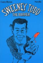 Sweeney Todd The Barber (Vocal Score) Sheet Music