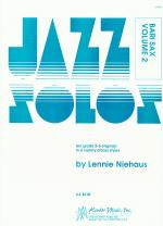 Jazz Solos For Baritone Sax, Volume 2 Sheet Music