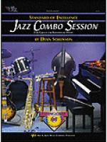 Standard of Excellence Jazz Combo Session-Trumpet/Tenor Sax/Clarinet/Bass Clarinet/Baritone T.C. Sheet Music