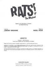Rats! The Musical (Libretto) 1-9 Copies Sheet Music