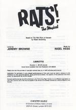 Rats! The Musical (Libretto) 10+ Copies Sheet Music