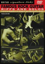 Famous Rock Guitar Riffs and Solos Sheet Music