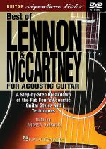 The Best of Lennon & McCartney for Acoustic Guitar (DVD) Sheet Music