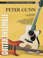 21st Century Guitar Ensemble -- Peter Gunn Sheet Music