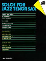 Solos for Jazz Tenor Sax Sheet Music