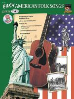 Guitar Tab: Easy American Folk Songs (Book & Cd) Sheet Music