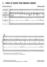 Jam Sessions Keyboard Score Sheet Music