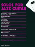 Solos for Jazz Guitar Sheet Music