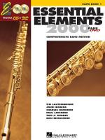 Essential Elements 2000: Flute Book 1 (DVD Edition) Sheet Music