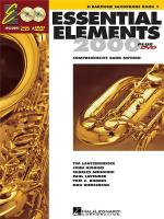 Essential Elements 2000: Baritone Saxophone Book 1 (DVD Edition) Sheet Music