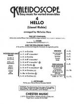 Kaleidoscope No. 4 Hello Sheet Music
