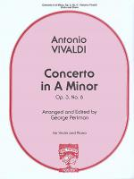 Concerto in A Minor, Op.3, No.6 Sheet Music