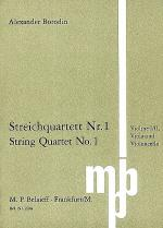 String Quartet No.1 Sheet Music