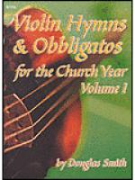 Violin Hymns and Obbligatos, Vol. 1 Sheet Music