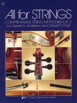All For Strings Book 2 Violin Sheet Music