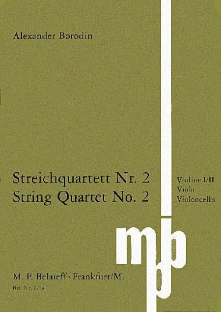 String Quartet No.2 Sheet Music