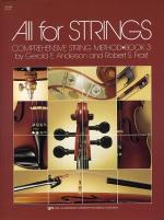 All For Strings Book 3 Violin Sheet Music