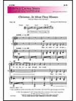 Christmas In About Three Minutes.Christmas In About Three Minutes Sheet Music Stock