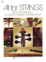 All For Strings Theory Workbook 1 Violin Sheet Music