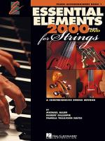 Essential Elements 2000 For Strings: Piano Accompaniment (DVD Edition) Sheet Music