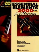 Essential Elements 2000: Double Bass Book 1 (DVD Edition) Sheet Music