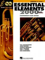Essential Elements 2000: Baritone Treble Clef Book 1 (DVD Edition) Sheet Music
