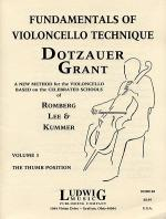 Fundamentals Of Violoncello Technique - Volume 3 (Thumb Position) Sheet Music