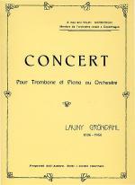 Concert pour Trombone et Piano Sheet Music