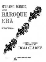 String Music Of The Baroque Era Sheet Music