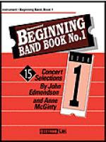 Beginning Band Book#1 Trombone/Baritone/Bassoon Sheet Music