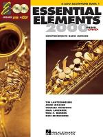 Essential Elements 2000: Alto Saxophone Book 1 (DVD Edition) Sheet Music