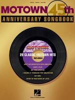 Motown 45th Anniversary Songbook Sheet Music