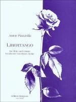 Astor Piazzolla: Libertango fur Flote und Gitarre Sheet Music