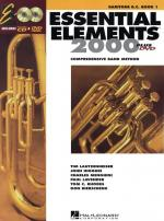 Essential Elements 2000 Baritone Bass Clef Book 1 (DVD Edition) Sheet Music