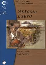 Antonio Lauro: Works for Guitar, Volume 5 Sheet Music