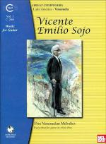 Vicente Emilio Sojo Works for Guitar, Volume 1 Sheet Music