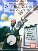 Old-Time Gospel Banjo Solos Book/CD Set Sheet Music