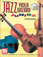 Jazz Viola Wizard Junior, Book 1 Book/CD Set Sheet Music
