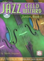 Jazz Cello Wizard Junior, Book 1 Book/CD Set Sheet Music