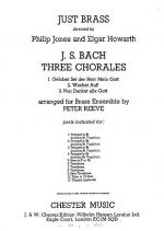 J.S. Bach: Three Chorales (Just Brass No.48) Sheet Music