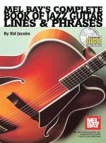 Complete Book of Jazz Guitar Lines & Phrases Book/CD Set Sheet Music