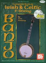 Complete Book of Irish & Celtic 5-String Banjo Book/CD Set Sheet Music