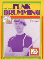 Funk Drumming Book/CD Set Sheet Music