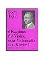 Ragtimes Vol.1 (Vln/Vc) Sheet Music