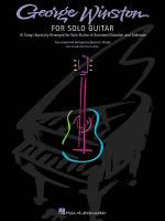 George Winston for Solo Guitar Sheet Music