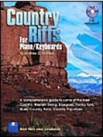 Country Riffs for Piano/Keyboards Sheet Music